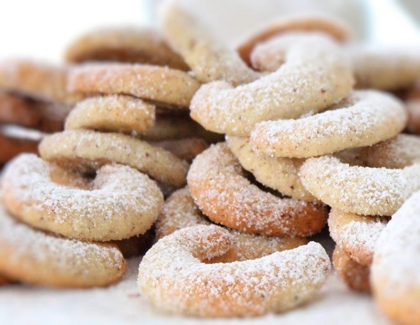 Glutenfreie Vanillekipferl Weihnachtsplätzchen