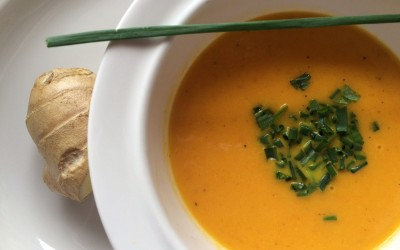 Low Fodmap: Karotten Ingwer Suppe