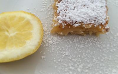 Glutenfreie Zitronenschnitten
