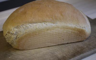 Toastbrot aus Dinkelmehl (Übernacht Gare)