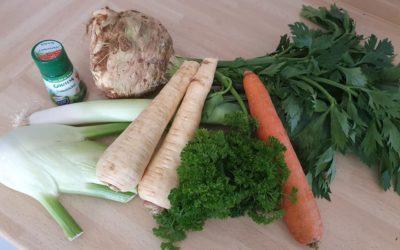 LowFODMAP – Gemüsepaste / Gemüsebrühe